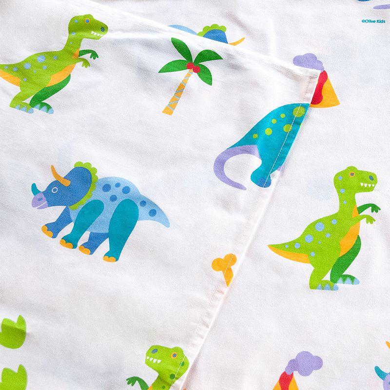 Olive Kids Dinosaur Land Sheets
