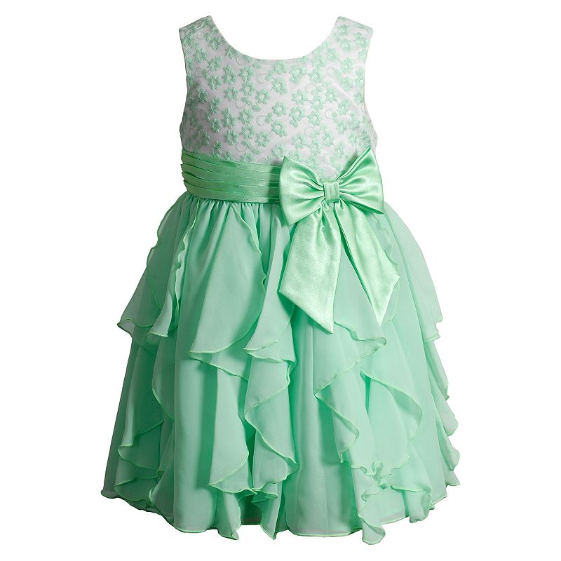 Girls 4-6x Youngland Lace Ruffle Dress