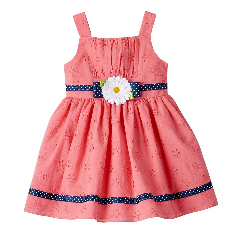 Toddler Girl Youngland Eyelet Dress