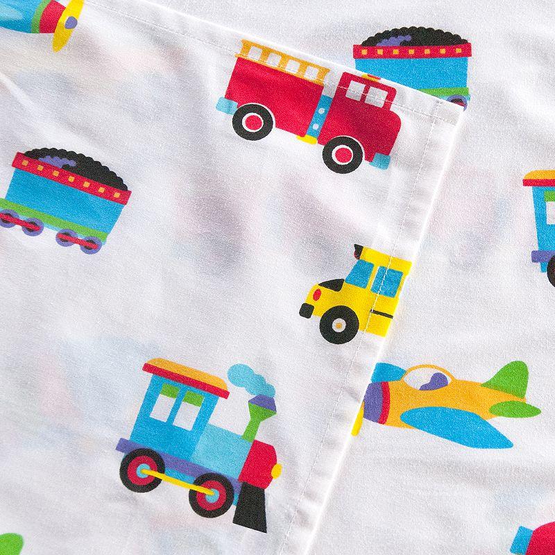 Olive Kids Trains, Planes & Trucks Sheets
