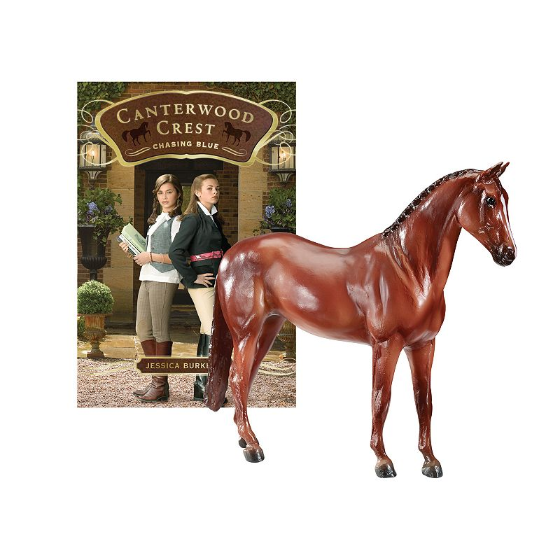 Breyer Horse Stories Canterwood Crest: Chasing Blue Book & Horse Figure Set