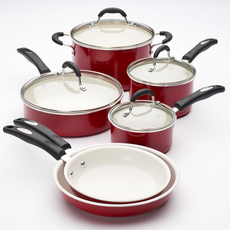 Cuisinart 10-pc. Nonstick Ceramic Cookware Set