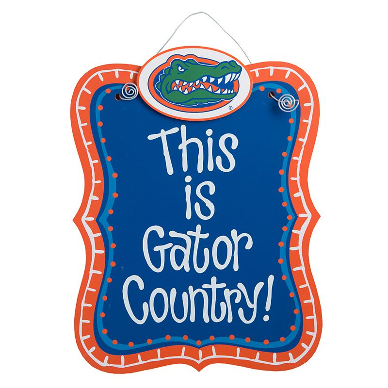 Florida Gators Hanging Sign