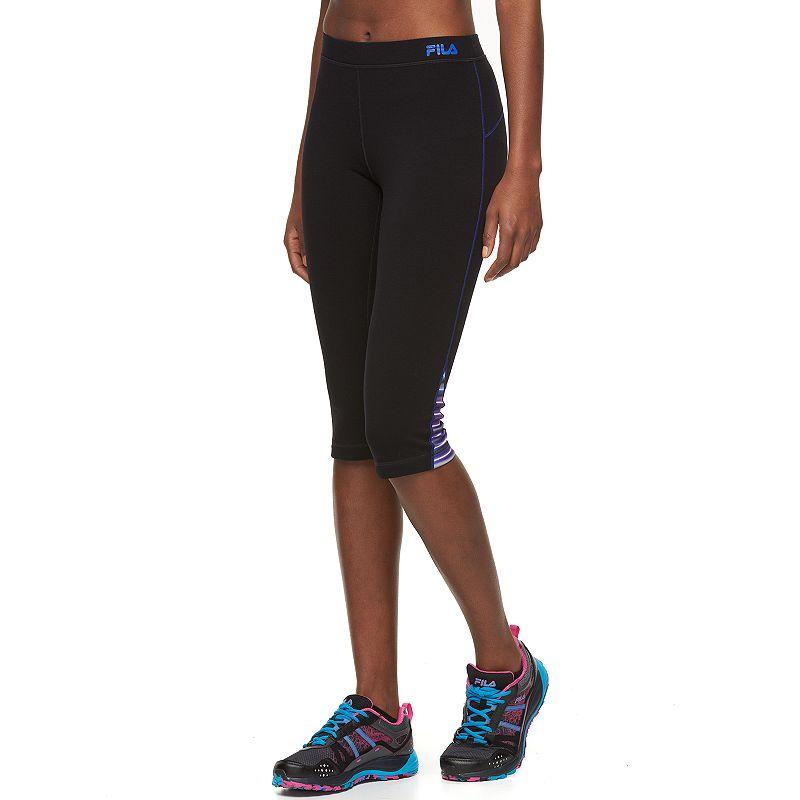 Women's FILA SPORT® Pop Hem Yoga Capri Leggings