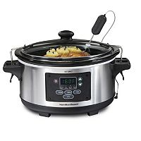 Hamilton Beach Set & Forget 6-qt. Slow Cooker