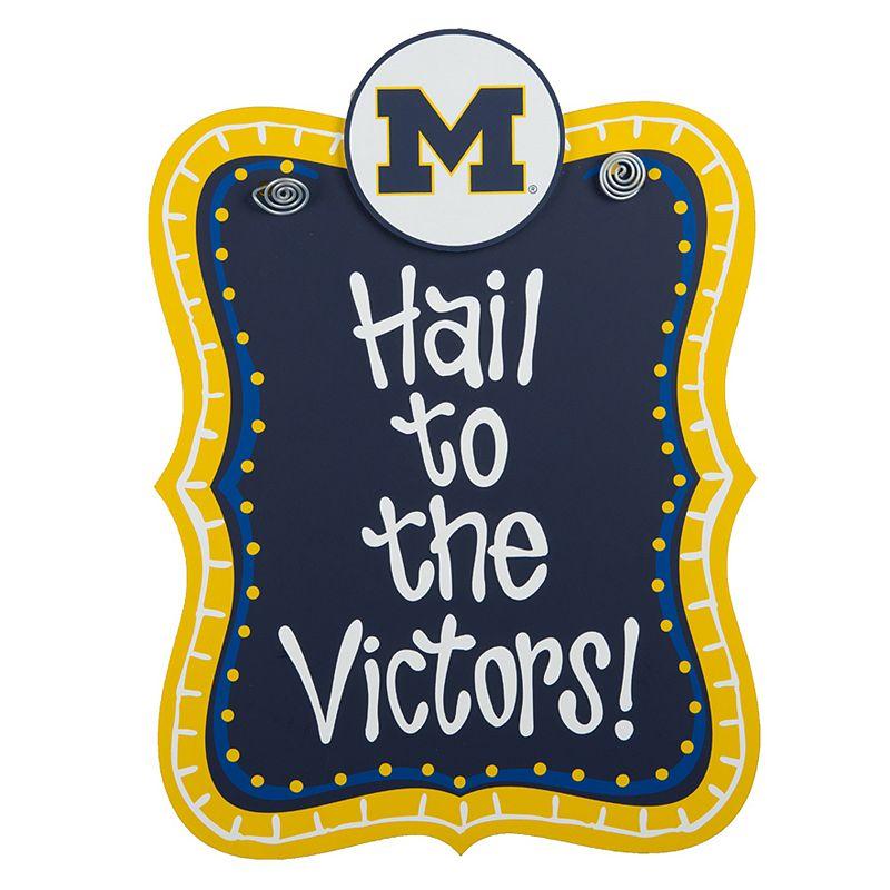 Michigan Wolverines Hanging Sign
