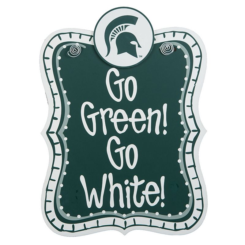 Michigan State Spartans Hanging Sign