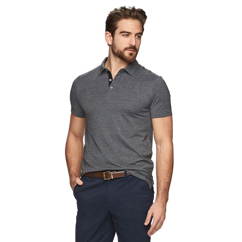 Men's Marc Anthony® Slim-Fit Mini-Striped Polo