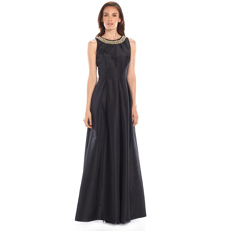 Women's Chaya Embellished Pleated Evening Gown