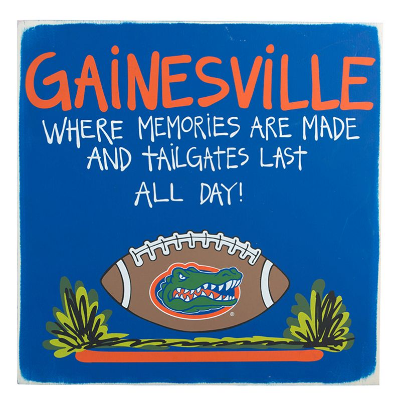 Florida Gators Tailgate Sign