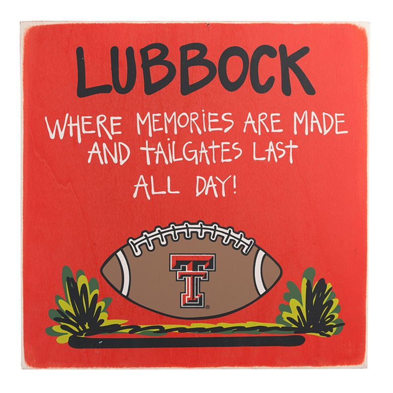 Glory Haus Texas Tech Red Raiders Tailgating Sign