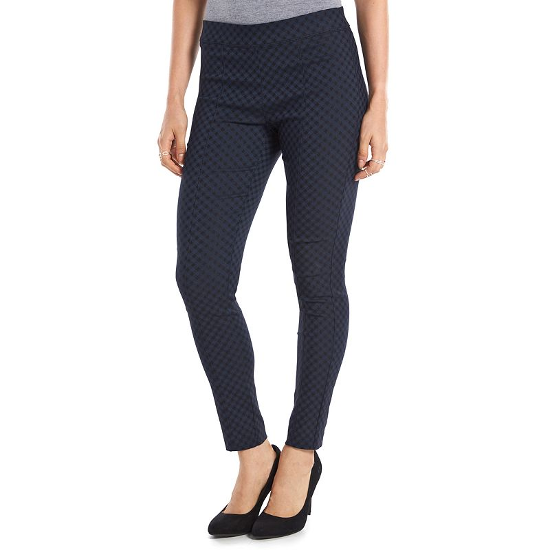 Women's ELLE™ Millennium Checked Leggings