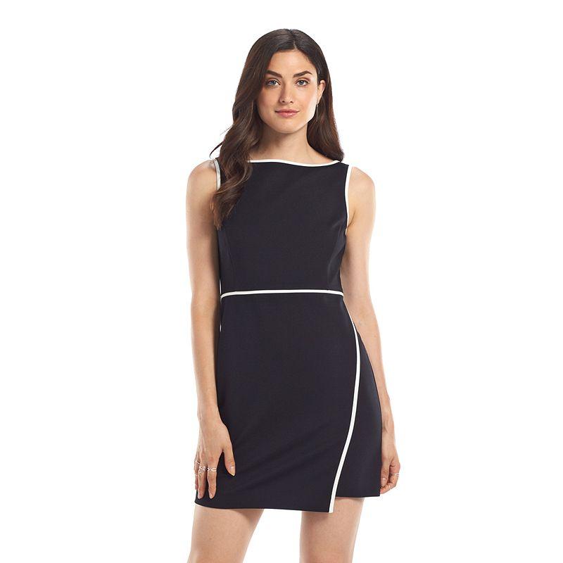 Women's ELLE™ Asymmetrical-Hem Sheath Dress
