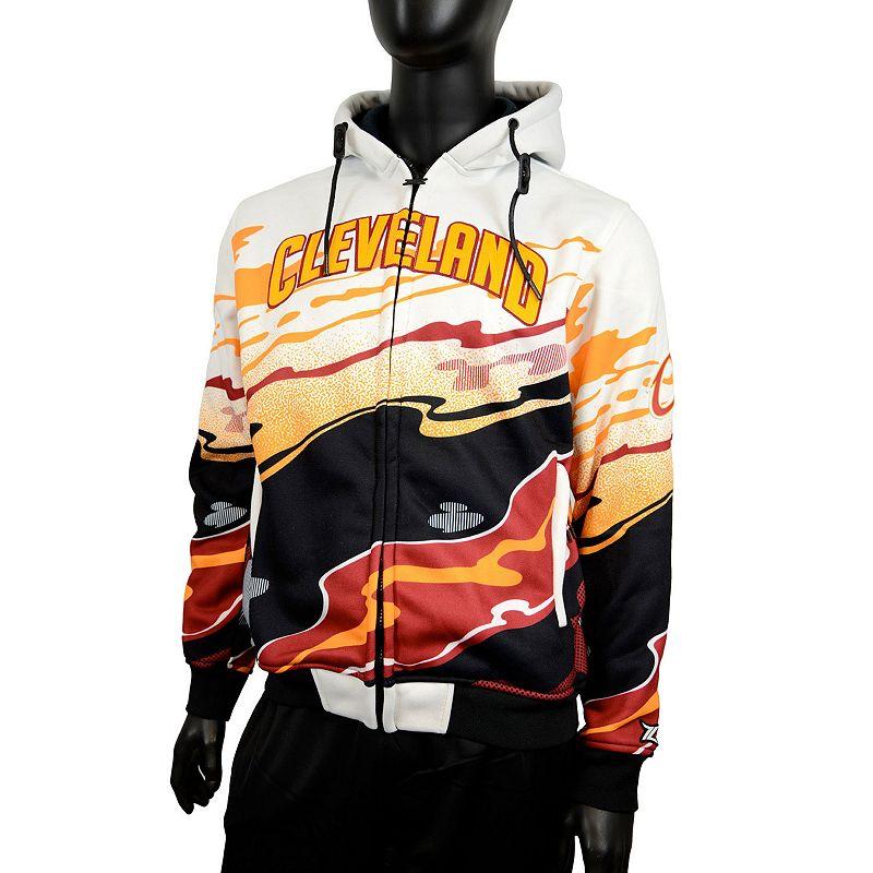 Men's Zipway Cleveland Cavaliers Hot Lava Hoodie