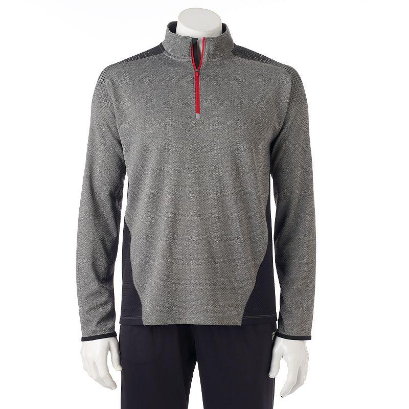 Men's Tek Gear® DryTEK Quarter-Zip Pullover
