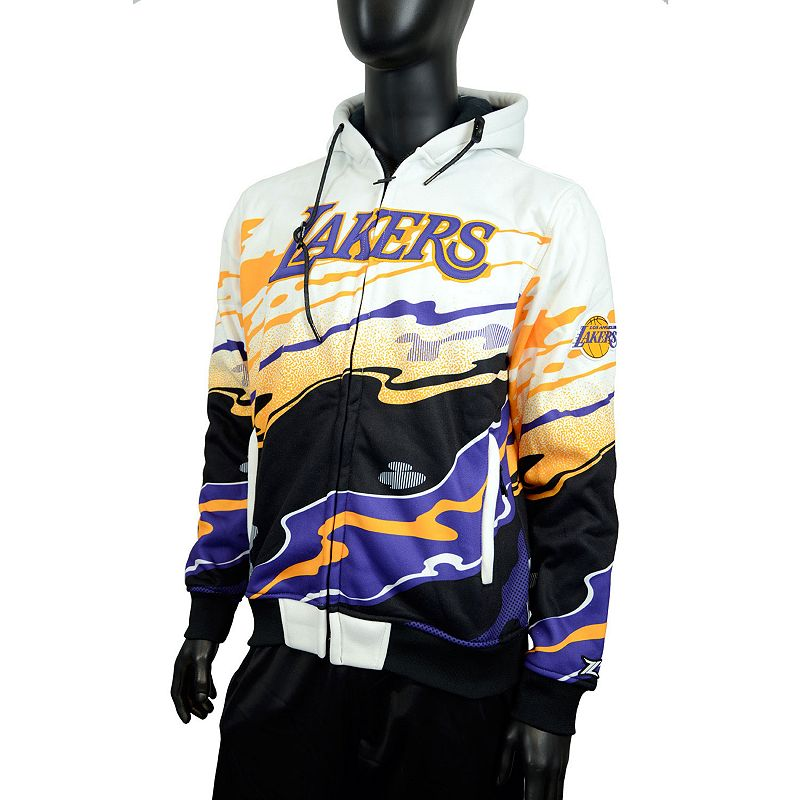 Men's Zipway Los Angeles Lakers Hot Lava Hoodie