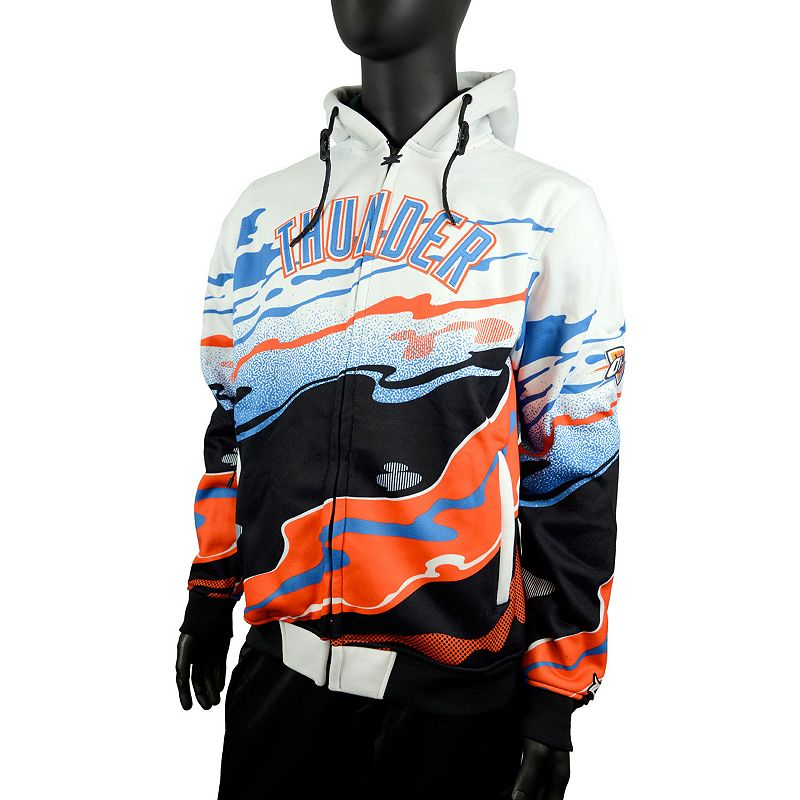 Men's Zipway Oklahoma City Thunder Hot Lava Hoodie