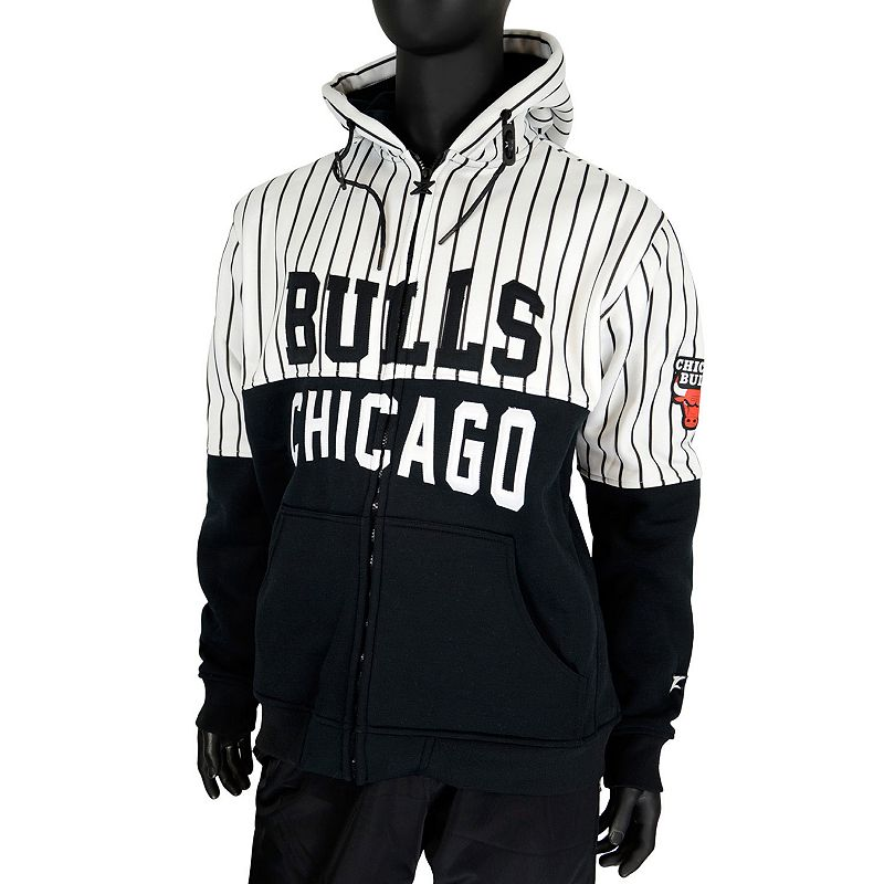 Men's Zipway Chicago Bulls Heavy Hitters Hoodie