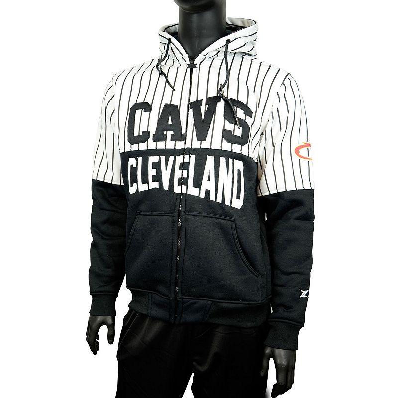 Men's Zipway Cleveland Cavaliers Heavy Hitters Hoodie