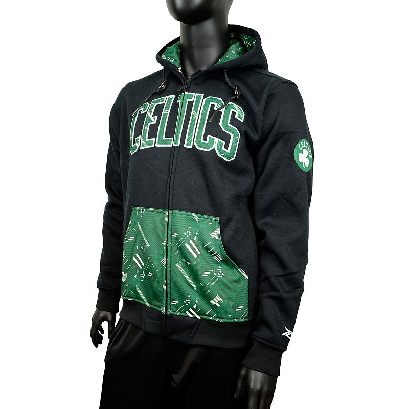 Men's Zipway Boston Celtics Signature Basics Hoodie