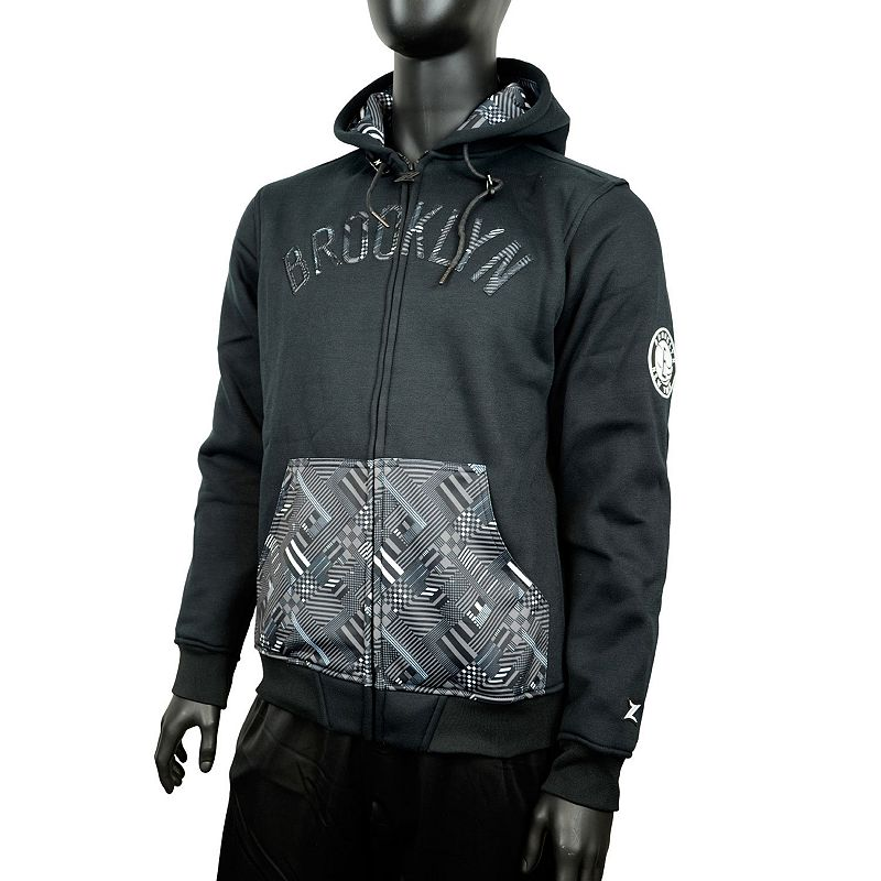 Men's Zipway Brooklyn Nets Signature Basics Hoodie