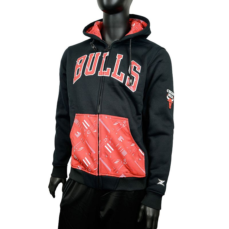 Men's Zipway Chicago Bulls Signature Basics Hoodie