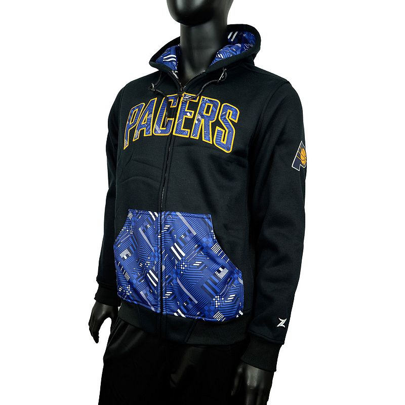 Men's Zipway Indiana Pacers Signature Basics Hoodie