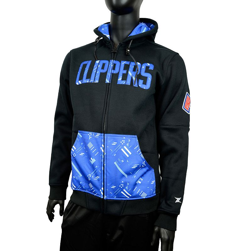 Men's Zipway Los Angeles Clippers Signature Basics Hoodie