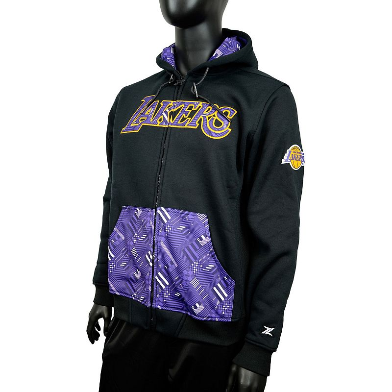 Men's Zipway Los Angeles Lakers Signature Basics Hoodie