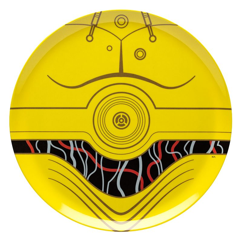 Star Wars C-3PO 10-in. Melamine Plate by Zak Designs