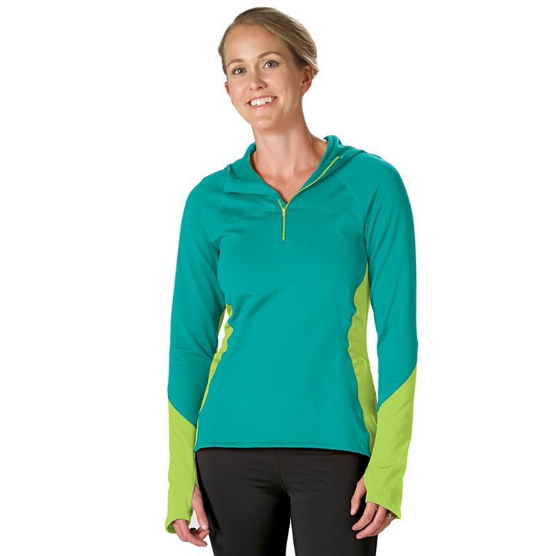 Women's Stonewear Designs Alpha Quarter-Zip Workout Hoodie