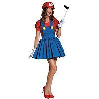 Super Mario Bros. Mario Costume - Adult Plus