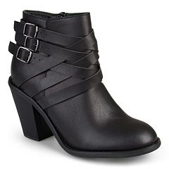 Journee Collection Strap Womens Ankle Boots by