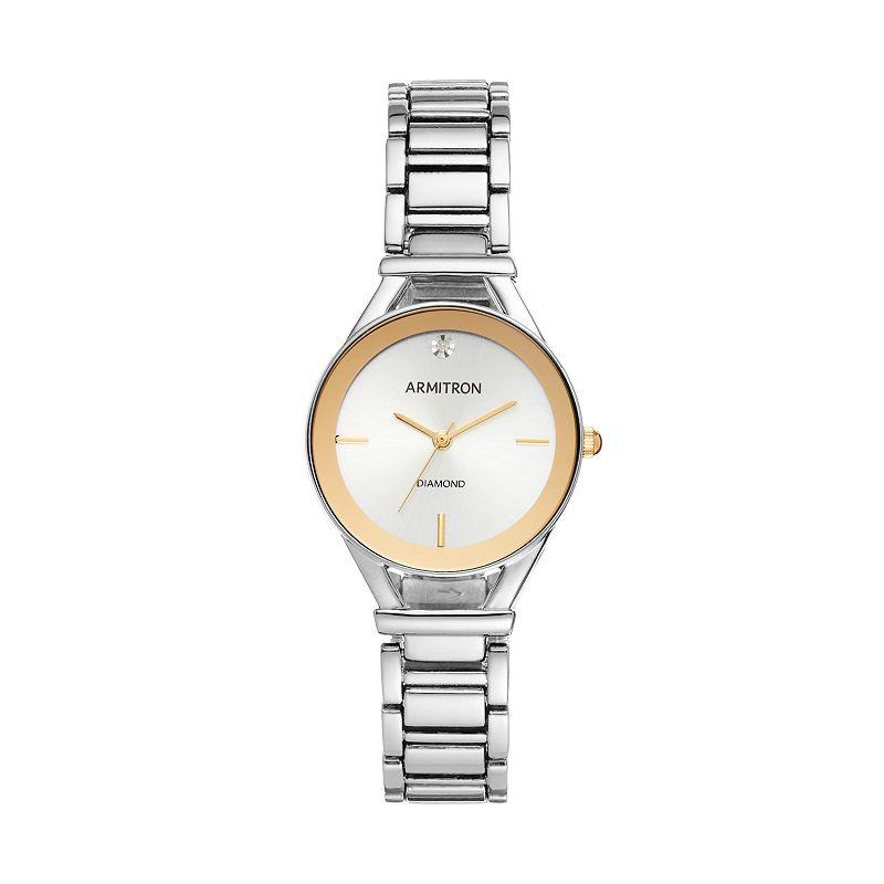 Armitron Women's Diamond Watch - 75/5334SVTT