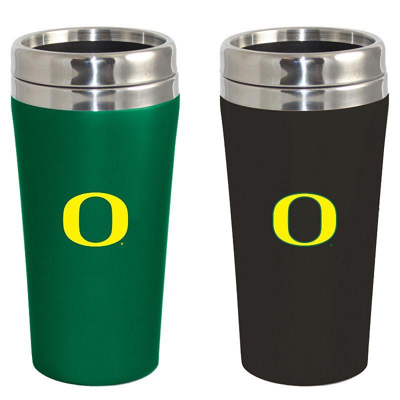 Oregon Ducks 2-Pack Travel Tumbler Set