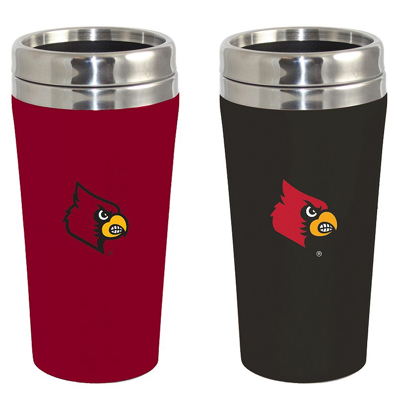 Louisville Cardinals 2-Pack Travel Tumbler Set