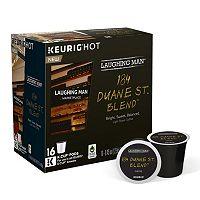 Keurig® K-Cup® Pod Laughing Man 184 Duane St. Blend Light Roast Coffee - 16-pk.