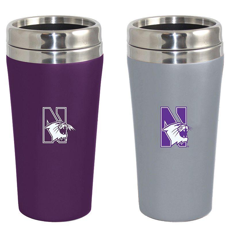 Northwestern Wildcats 2-Pack Travel Tumbler Set