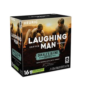 Keurig® K-Cup® Pod Laughing Man Dukale's Blend Medium Roast Coffee - 16-pk.