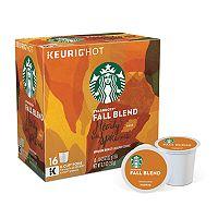 Keurig® K-Cup® Pod Starbucks Fall Blend Medium Roast Coffee - 16-pk.