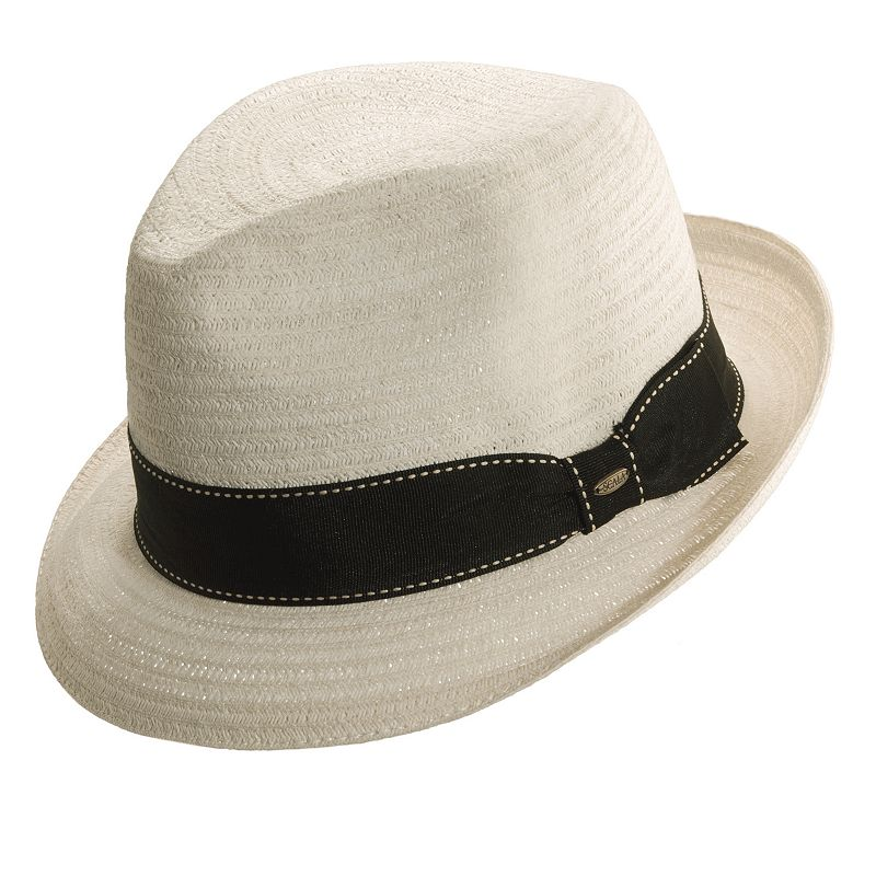Scala Classico Toyo Braided Fedora - Men