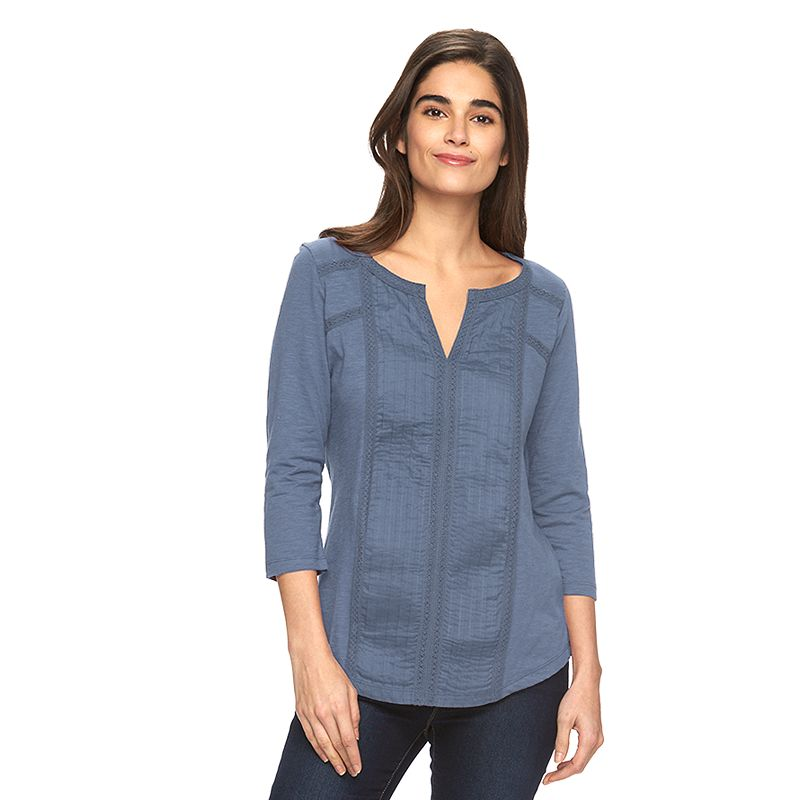 Women's SONOMA Goods for Life™ Pintuck Top