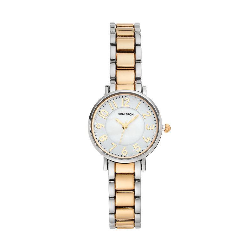 Armitron Women's Two Tone Watch - 75/5345MPTT