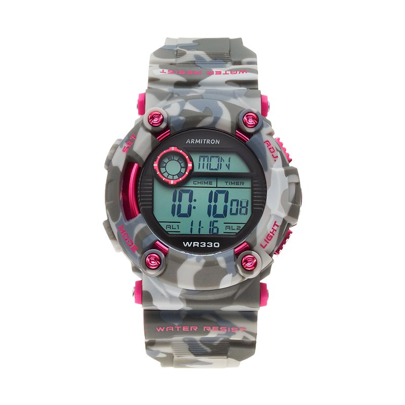 Armitron Men's Camouflage Sport Digital Chronograph Watch - 40/8229CPK