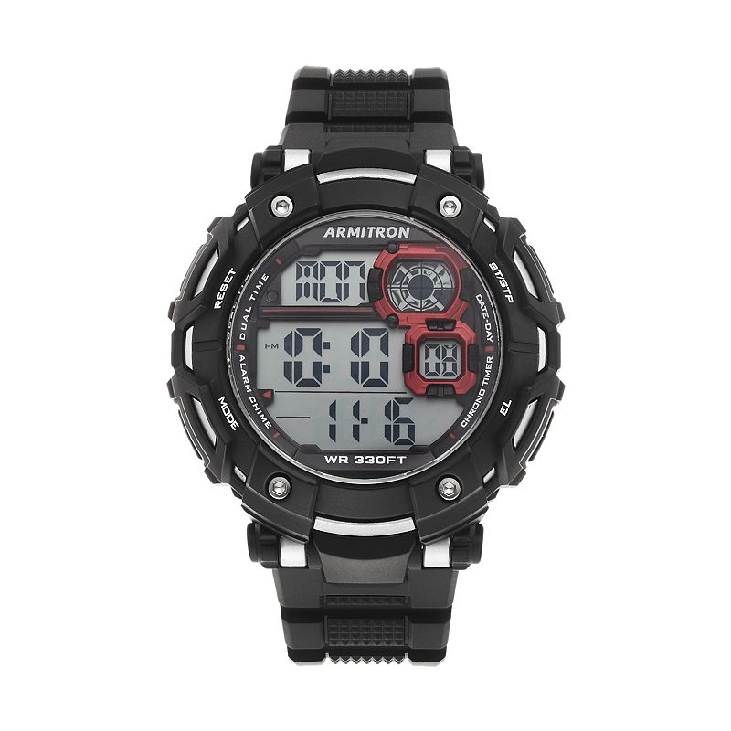 Armitron Men's Sport Digital Chronograph Watch - 40/8359BLK