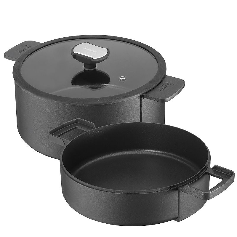 Berndes B Double 3-pc. Nonstick Cast-Aluminum Cookware Set