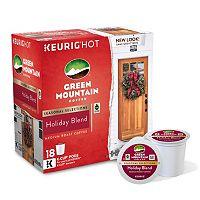 Keurig® K-Cup® Pod Green Mountain Coffee Holiday Blend Medium Roast Coffee - 18-pk.