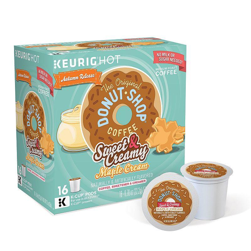 Keurig® K-Cup® Pod The Original Donut Shop Coffee Sweet & Creamy Maple Cream Coffee - 16-pk.