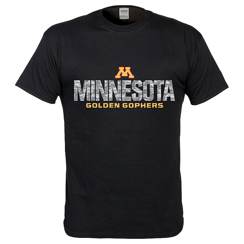 Men's Minnesota Golden Gophers Digital Machine Short-Sleeve Tee