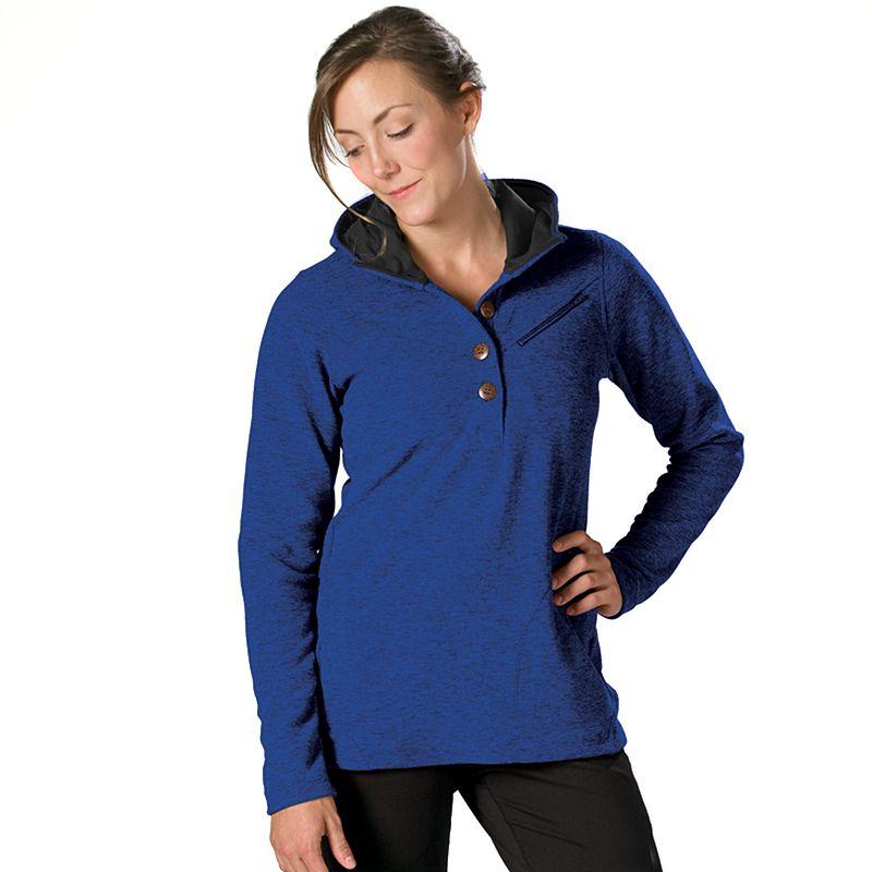 Women's Stonewear Designs Haze Button Hiking Hoodie